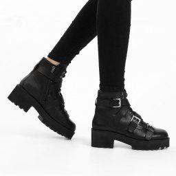 Женские Ботинки Ash RAZOR черный