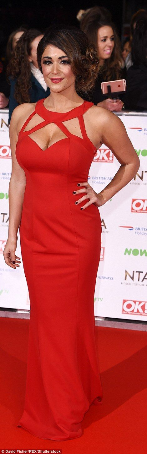 Michelle Keegan, Emma Willis and Jorgie Porter stun on National TV Awards red carpet | Daily Mail Online