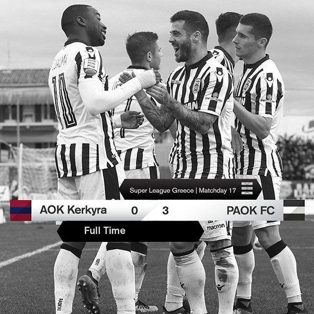#AOKPAOK 0-3 #SuperLeague #PamePAOKARA