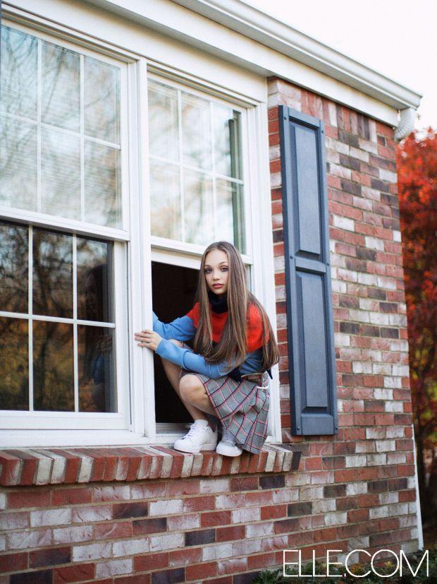 Maddie Ziegler of 'Dance Moms' Is a High Fashion Tween for 'Elle' - Fashionista