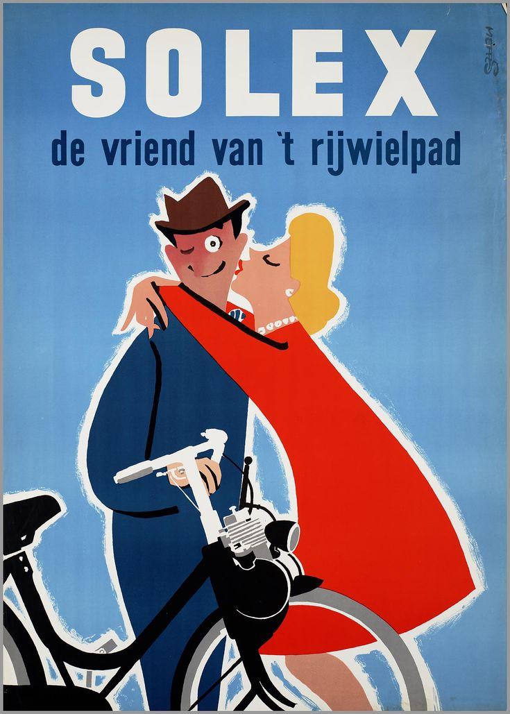 1954-1955 Solex (van het Franse bedrijf Vélosolex)
