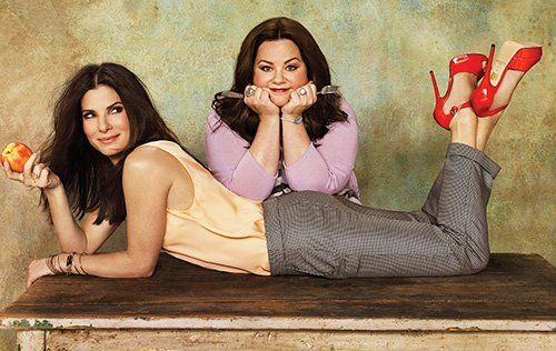 Sandra Bullock & Melissa McCarthy - these two are great together!!!!!!!!