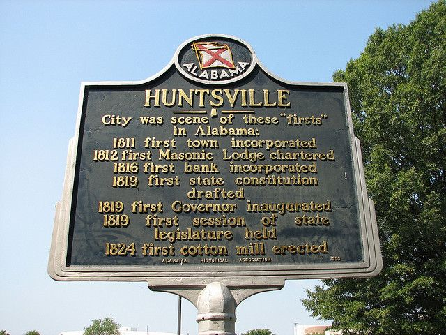 HUNTSVILLE ALABAMA ~the first...