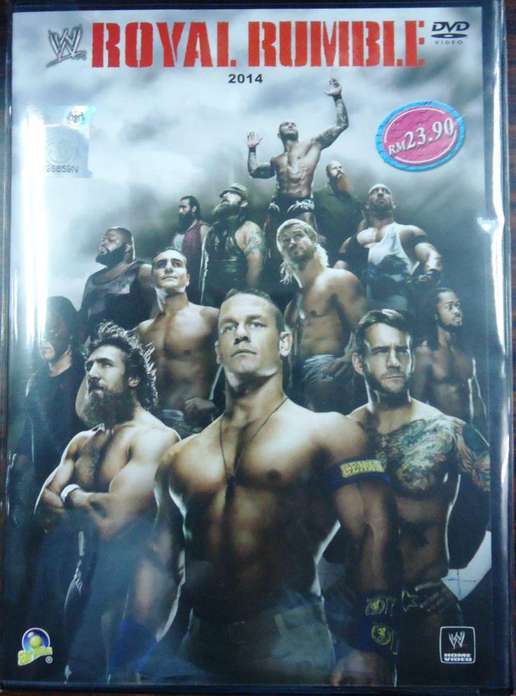 DVD WWE Wrestling Royal Rumble 2014 Randy Orton John Cena Daniel Bryan Region 0