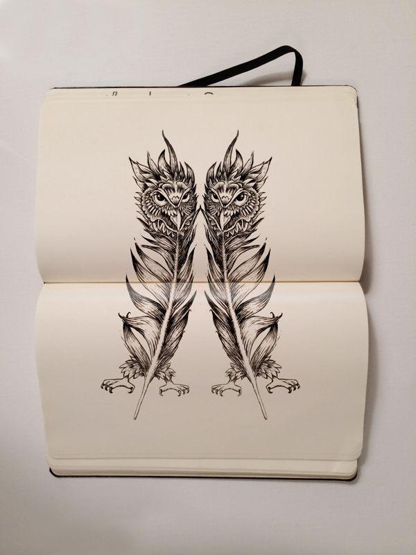 Thorbjørn Ruud: Moleskine doodles #Illustration   http://deface365.blogspot.gr/2014/01/thorbjrn-ruud.html#.UugUMFL8LJ8