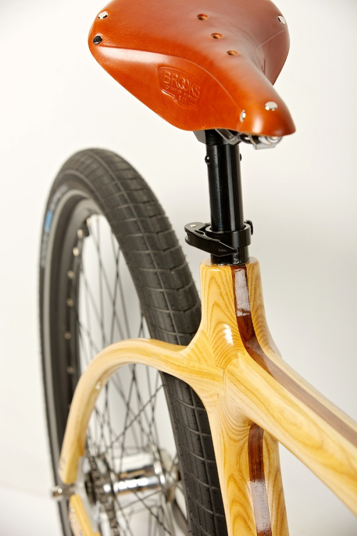 Connor Wood Bicycles -- Wood bikes from Denver Colorado.