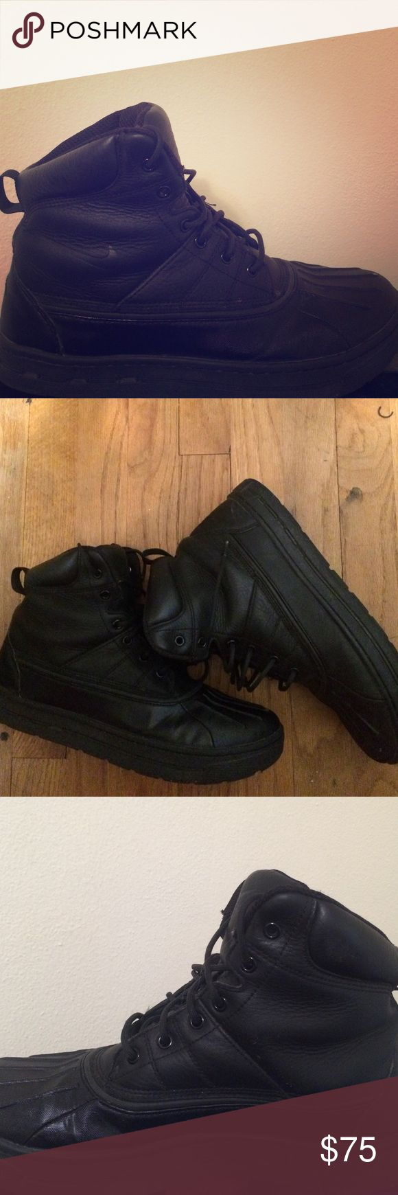 Used ACG Nike boots... All black Nike Shoes Boots