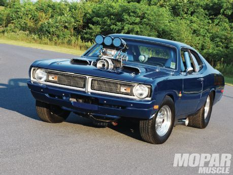 Hemi-Powered 1971 Dodge Demon - I could live with the blind spot!