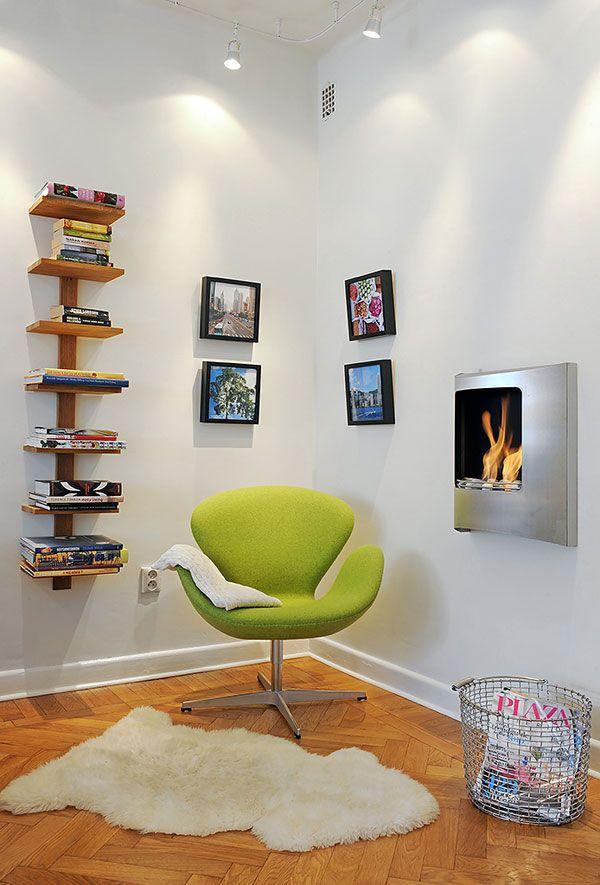 25 Fotos e ideas para crear un rincón de lectura en casa.   Mil Ideas de…