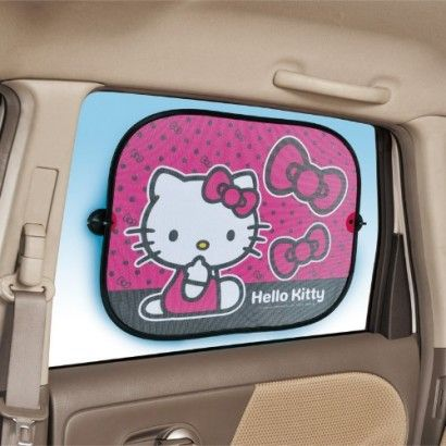 Best Hello Kitty Car Images On Pinterest Hello Kitty Car - Back window stickers for trucksamazoncom ragnar lothbrok vikings rear window decal graphic