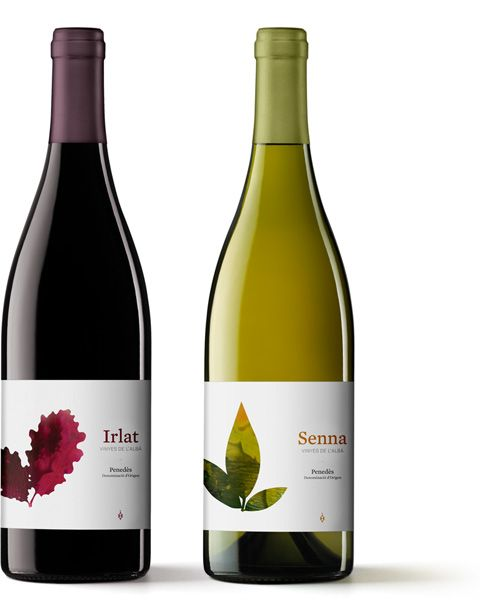 Packaging Irlat i Senna  Wine label design.  Project done in collaboration with Albert Martínez López-Amor.  -