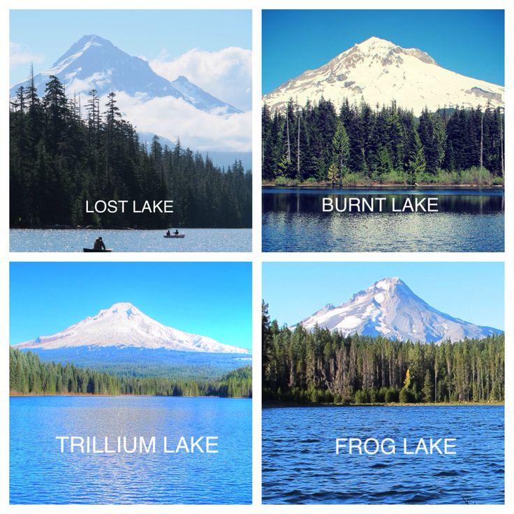 The many lakes of Mt Hood #oregon #mthood