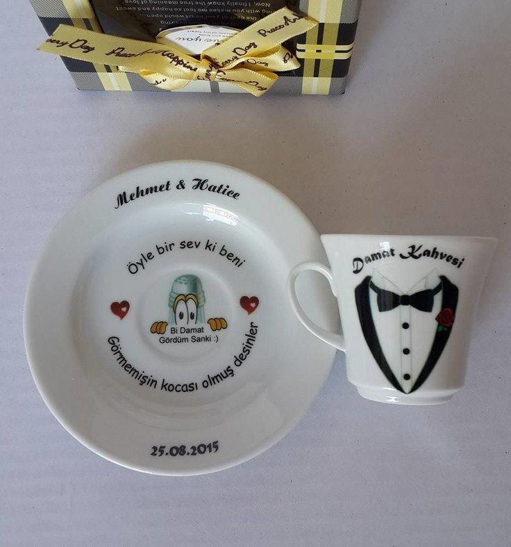 Dijital baskı size özel Tuzlu Kahve Fincanları hediyeplaza.com adresinde.