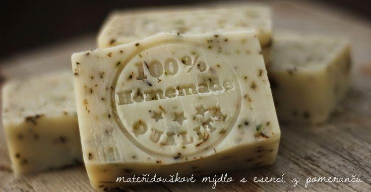 U nás na kopečku: Recept na domácí mýdlo ...