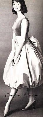 Couture Allure Vintage Fashion: Vintage Bubble Skirted Dresses