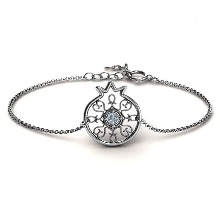 #Personalised #Bracelets : Personalised Pomegranate with Filigree Bracelet  We are pround of handcrafting quality personalised bracelets, bangles and anklets just for you.  https://www.neatie.com/custom-made-bracelet-with-personalised-designs/Personalised-Pomegranate-with-Filigree-Bracelet-by-Neatie