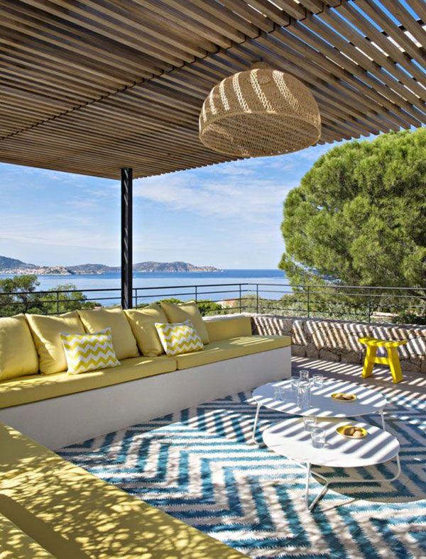Une maison en Corse aux couleurs de la Méditerranée - PLANETE DECO a homes world