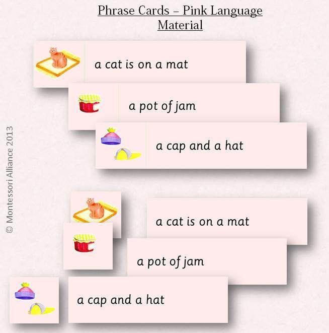 montessori reading sentances - Поиск в Google   Report ...