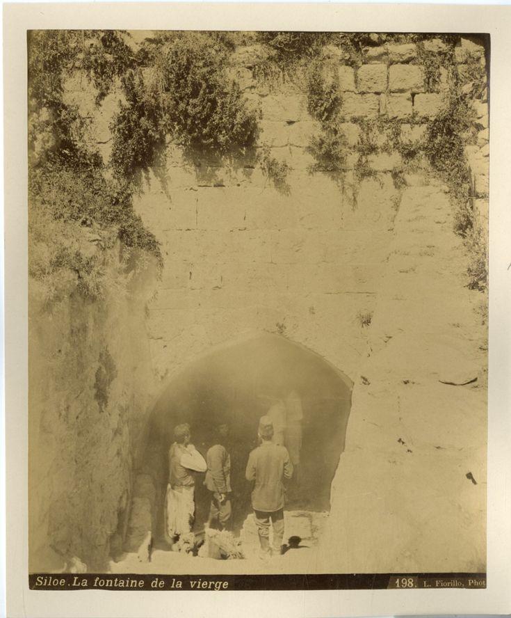Fiorillo. Palestine, La fontaine de la vierge    #Orient #Palestine_Palestina