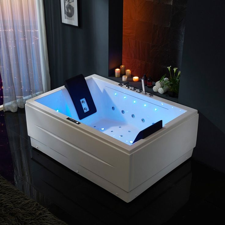 71 in 2020 Jetted bath tubs, Freestanding jetted tub