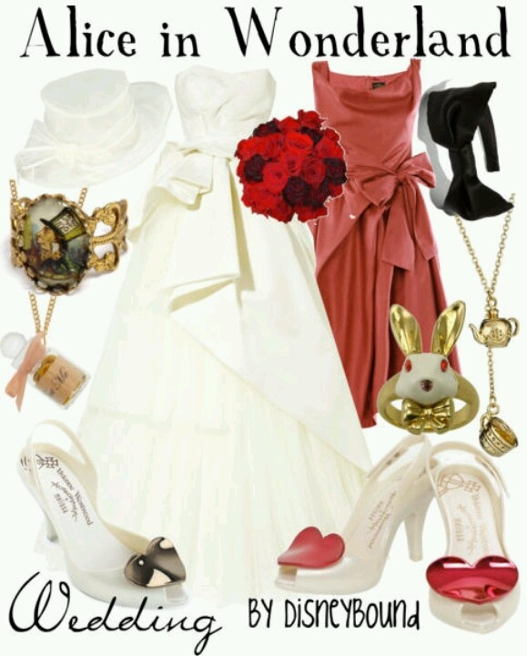 "Alice in Wonderland wedding theme | ""I Do!!"" 