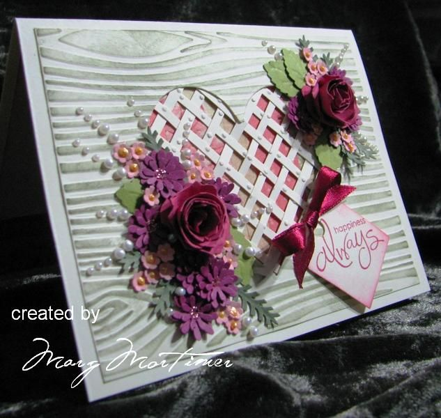 Heart and Flowers by Margscardcrazy - Cards and Paper Crafts at Splitcoaststampers