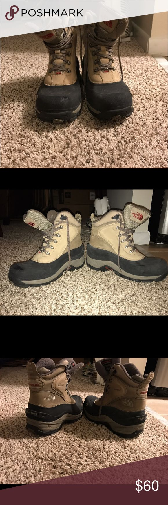 North Face Women's Insulated Boots Gently used North Face women's winter boots. Insulated Shoes Winter & Rain Boots