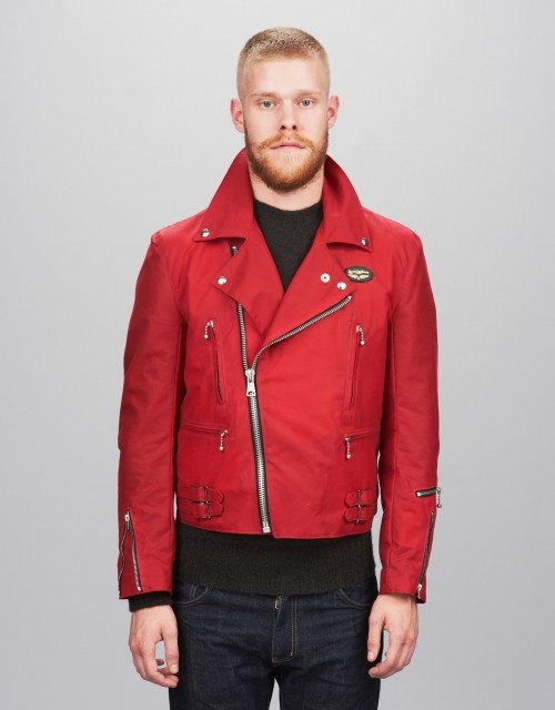 Ymc leather jacket
