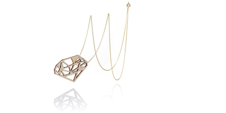 WOODEN DIAMONDS : Turina.Jewellery made in amsterdam