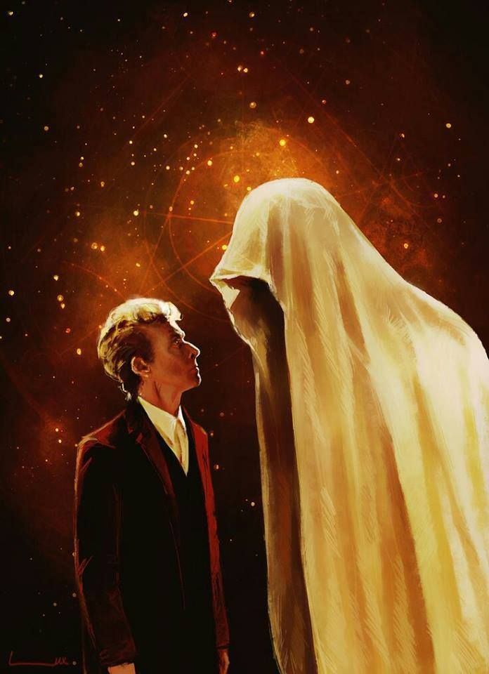 Staring death in the eyes!  #DoctorWho
