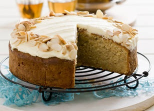 Caramel Apple Almond Cake recipe recipe - New Idea Magazine - Yahoo!7 Lifestyle