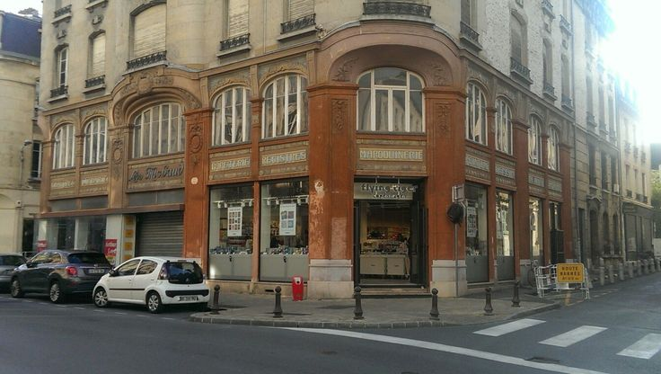 Vintage French storefront in Reims