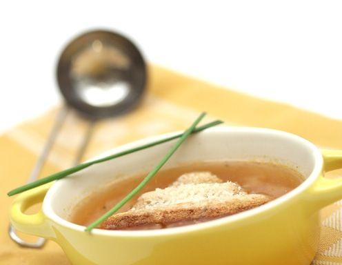 Zwiebelsuppe - Rezept - ichkoche.at