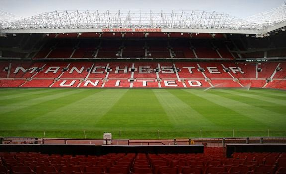 """The Theatre of Dreams"" home to #ManchesterUnited, is the second largest stadium in #England. Capacity: over 75,000 people. #ManUnited #OldTrafford #Soccer #Stadiums"
