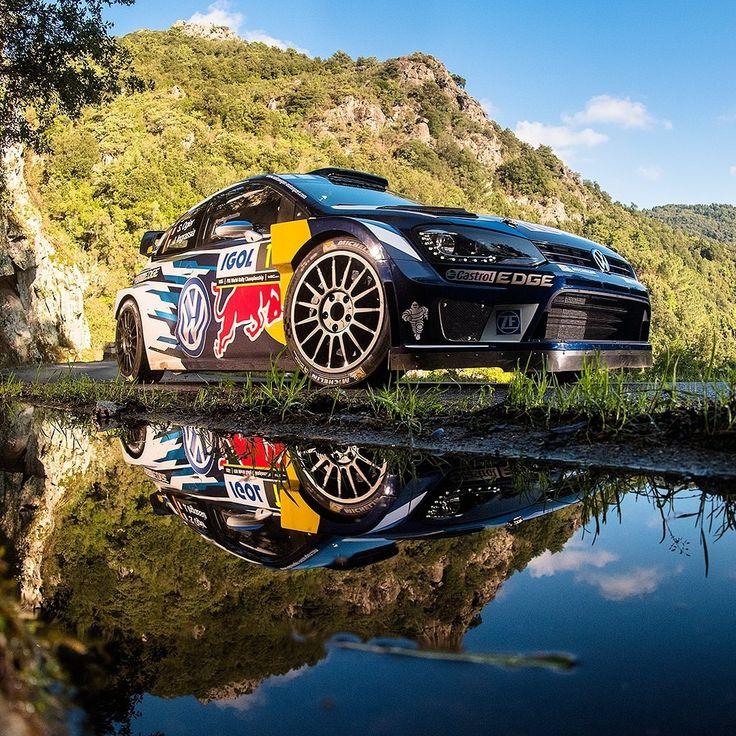 いいね!125件、コメント2件 ― Carro Esporte Clubeさん(@carroesporteclube)のInstagramアカウント: 「Volkswagen Polo R WRC 2016 O francês Sébastien Ogier venceu o Rally da Córsega, 10ª etapa do…」