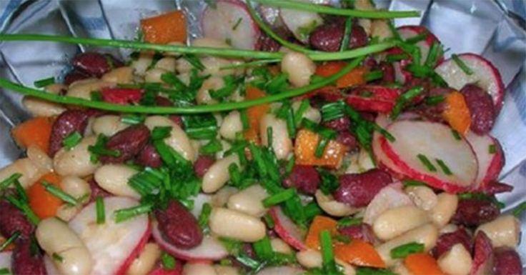După ce veți gusta din această salată, veți adora fasolea - este extraordinară! - Bucatarul.tv