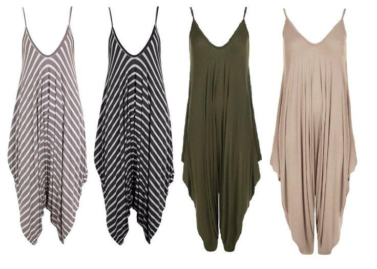 #Ladies #Italian #Romper #Cami #Jumpsuits #Womens #Dressy #BaggyJumpsuit  #Harem #Lagenlook #Strappy #UK http://cgi.ebay.co.uk/ws/eBayISAPI.dll?ViewItem&item=302470004768&roken=cUgayN&soutkn=fNHGri via @eBay #Jumpsuit