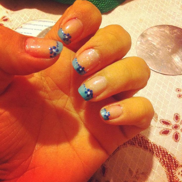 #nails #manicure #french