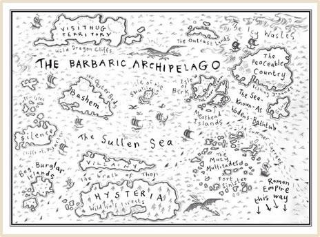 94 best fictional cartography images on pinterest cartography how to train your dragon barbaric archipelago books ccuart Images
