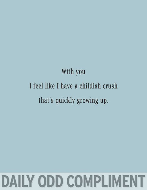 """Childish Crush"" - nailed it."