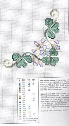 bread cloth cross stitch charts | Cross Stitch Bread Cloths
