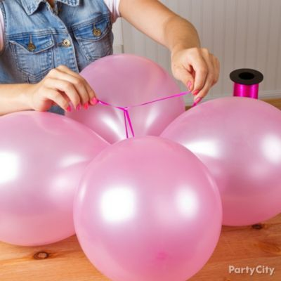 *DONE!* Princess Balloon Castle Party Towers Tutorial
