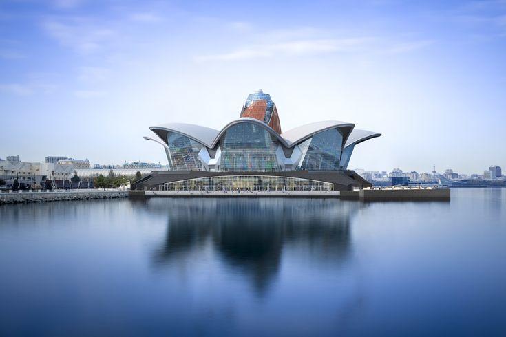 Designed by Chapman Taylor, Caspian Waterfront in Baku -  Leisure - Interesting Architecture -  Interiors - Design - Innovative design