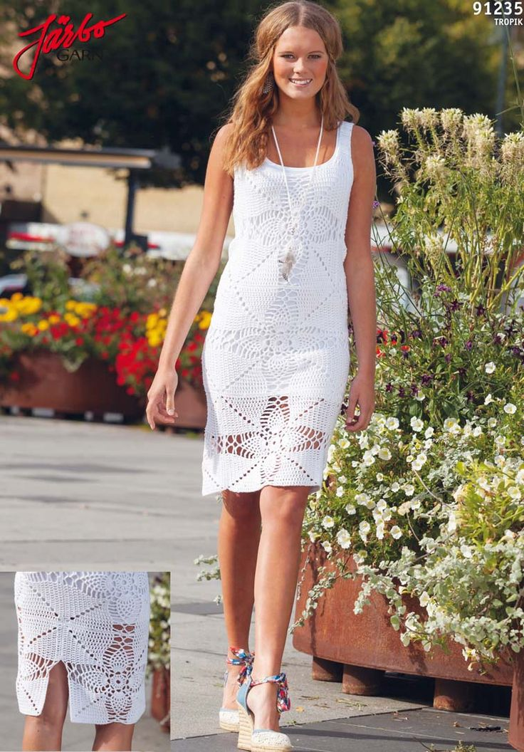 Be summer chic in this dress/top.