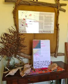 teachers bulletin boards made out of natural materials - Google Search