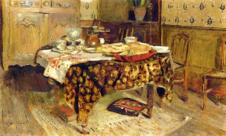Edouard Vuillard - The Table Setting, rue Truffaut, c. 1903