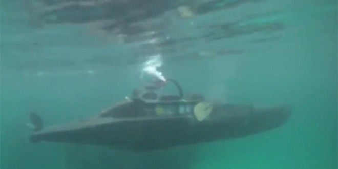 Kayak Transformed Into Human-Powered Submarine - VIDEO - PointClickFish.com - The Ultimate Fishing NetworkPointClickFish.com – The Ultimate Fishing Network