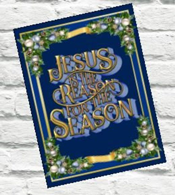 Jesus is the Reason Wreath Sign