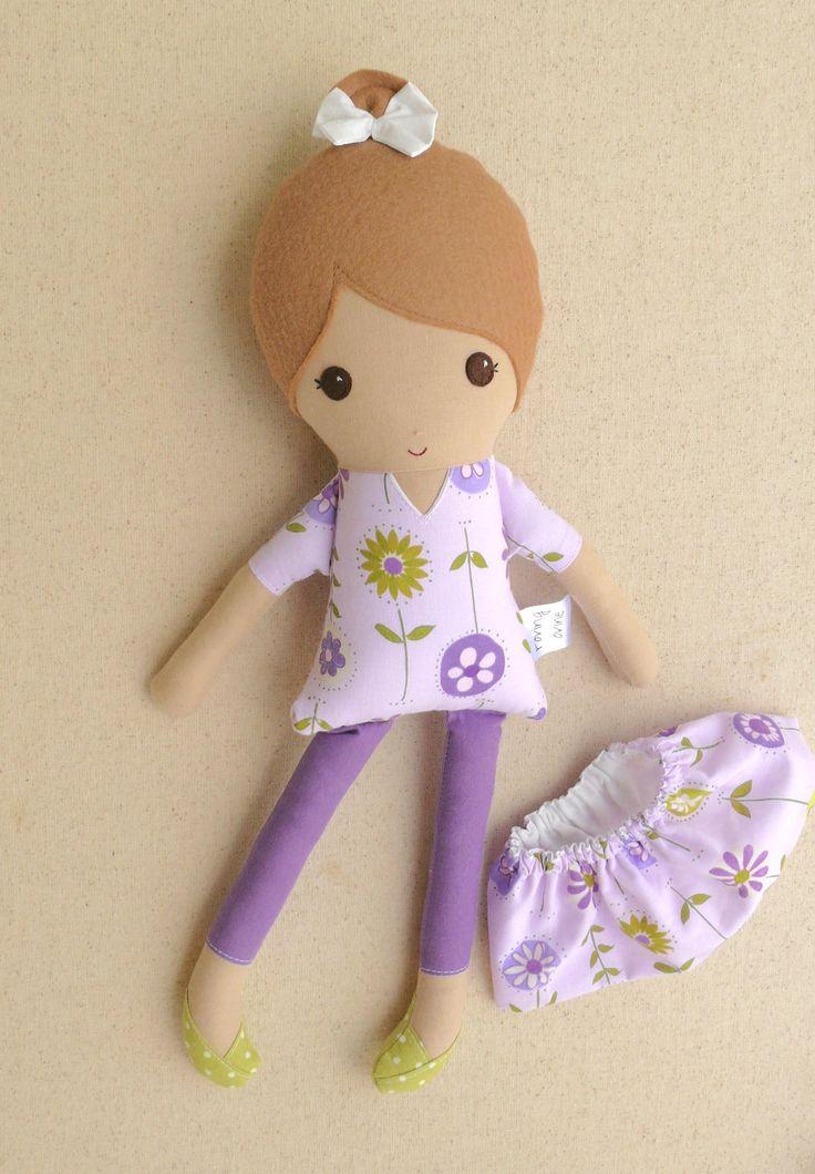 Tessuto bambola piccola 15 pollici di Rag Doll ragazza dai