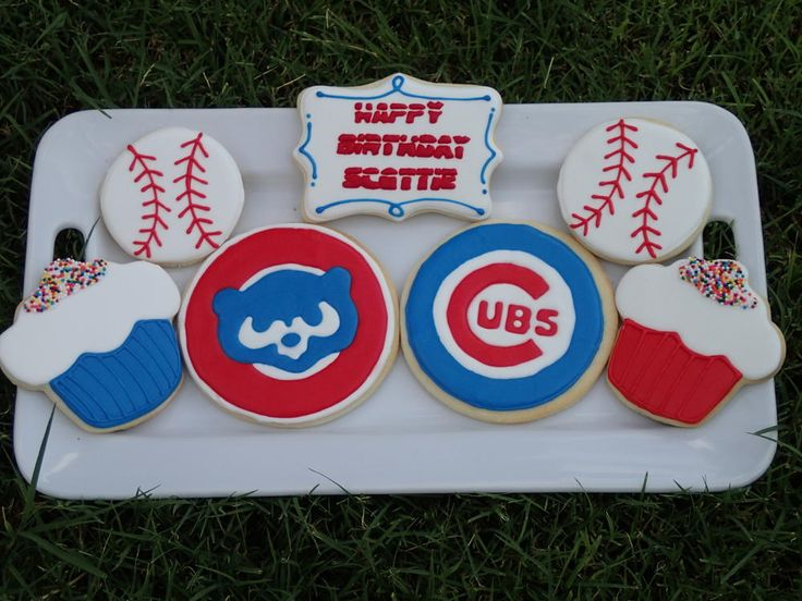 Chicago Cubs Birthday Set